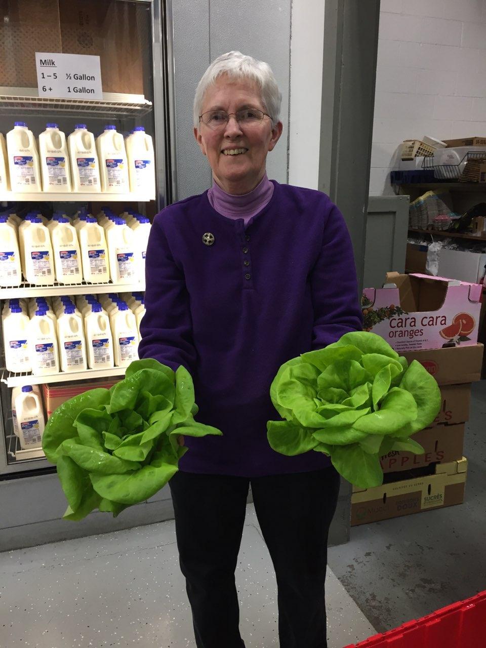 Healthy Harvest Program Delivers Fresh Bibb Lettuce