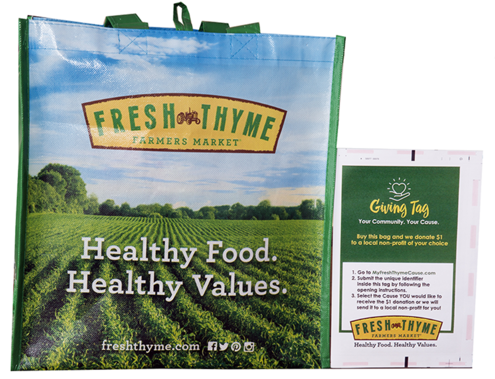 Fresh Thyme Giving Bag Program