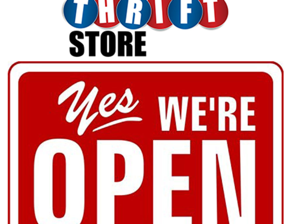 Thrift Store is Open