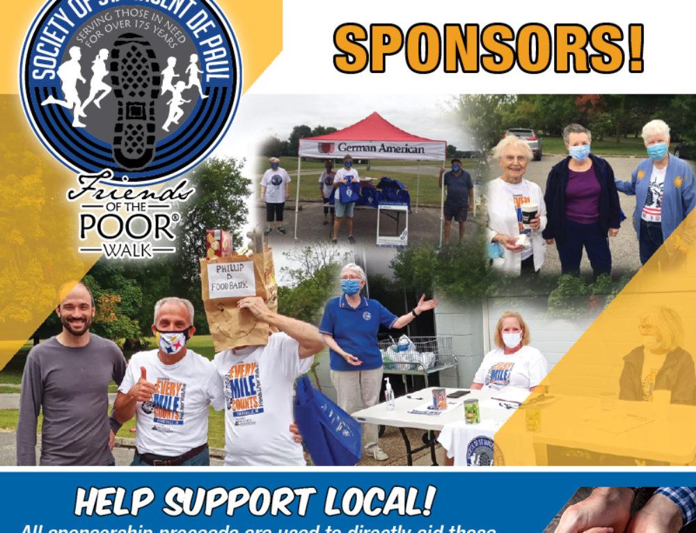 Seeking 14th Annual Friends of the Poor Walk Sponsors